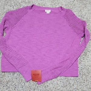 Mossimo cropped sweater